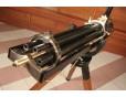 Mechanický kulomet M-1862 Gatling, r. 50 - USA