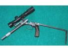 Pytlácká lidová tvořivost - pistole s lůžkovým závěrem, r. 22LR - ČR